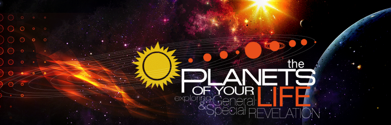 Planets of your life banner